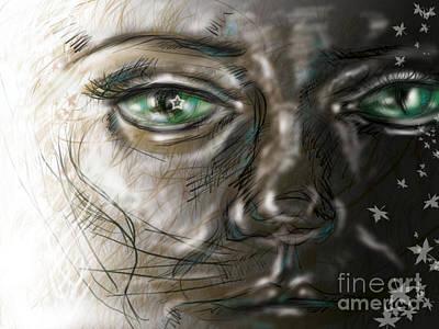 Catface Art Print