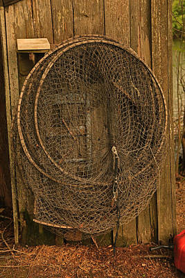 Photograph - Catfish Hoop Nets by Ronald Olivier