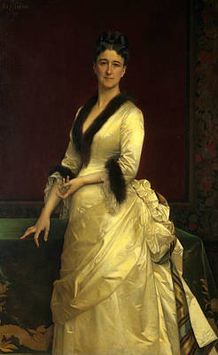 Painting - Catharine Lorillard Wolfe by Alexandre Cabanel