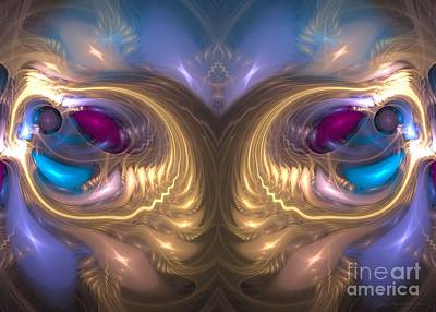 Digital Art - Catharsis - Abstract Art by Sipo Liimatainen