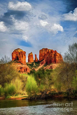 Photograph - Cathederal Rock Dreaming by Jon Burch Photography