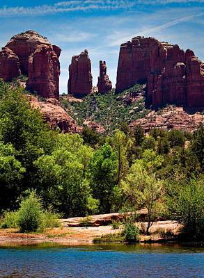 Cathedral Rock Photograph - Cathederal Rock by Kevin Munro