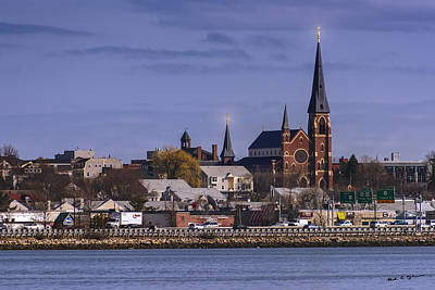 Photograph - Cathedral Across The Bay by Mark Myhaver