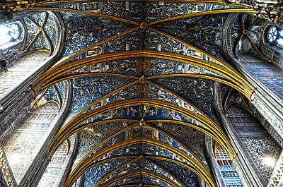 Cathedral Albi Art Print by Thomas M Pikolin