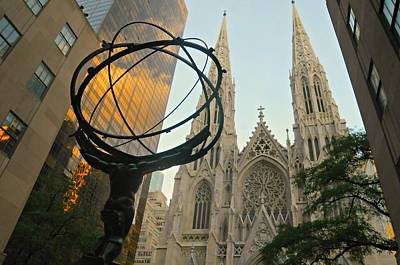 Cathedral And Sphere Art Print by Diana Angstadt