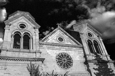 Photograph - Cathedral Basilica Of Saint Francis Of Assisi by Allen Sheffield