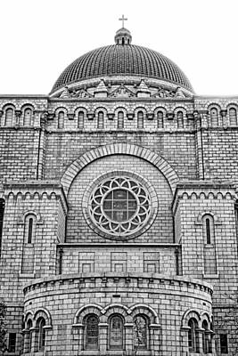 Photograph - Cathedral Basilica Of Saint Louis Study 1 by Robert Meyers-Lussier