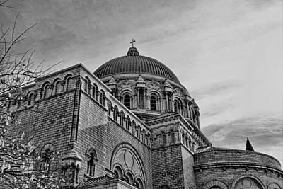 Photograph - Cathedral Basilica Of Saint Louis Study 2 by Robert Meyers-Lussier