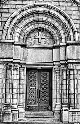 Photograph - Cathedral Basilica Of Saint Louis Study 3 by Robert Meyers-Lussier