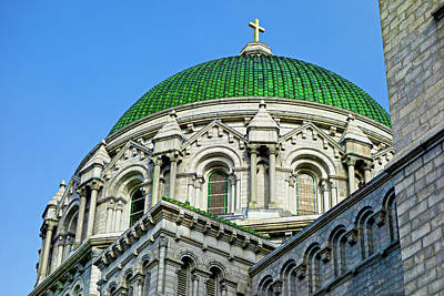 Photograph - Cathedral Basilica Of Saint Louis Study 7 by Robert Meyers-Lussier