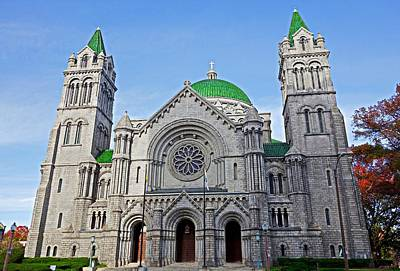 Photograph - Cathedral Basilica Of Saint Louis Study 8 by Robert Meyers-Lussier