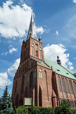 Photograph - Cathedral Basilica Of St. James The Apostle, Szczecin A by Jacek Wojnarowski