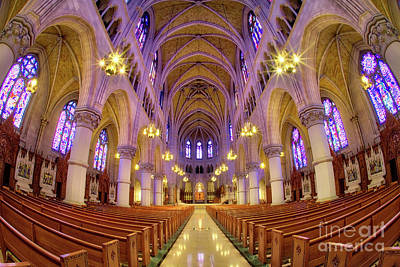 Photograph - Cathedral Basilica Of The Sacred Heart 1 by Jerry Fornarotto