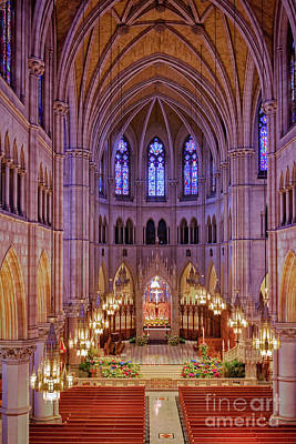Photograph - Cathedral Basilica Of The Sacred Heart by Jerry Fornarotto