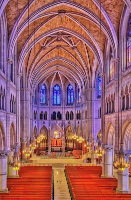 Cathedral Basilica Of The Sacred Heart Newark Nj II Art Print by Susan Candelario
