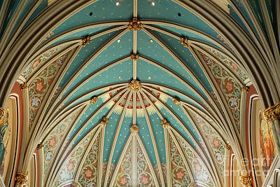 Photograph - Cathedral Ceiling by Heather Green