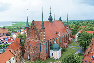 Photograph - Cathedral Church In Frombork by Marek Poplawski