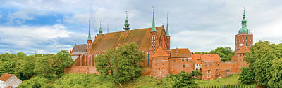 Photograph - Cathedral Church In Frombork, Poland by Marek Poplawski