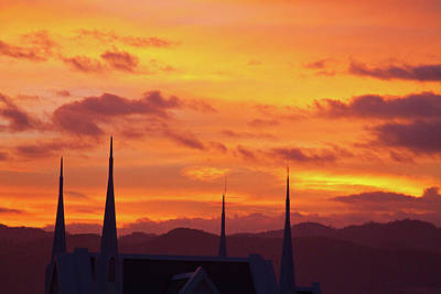 Cathedral Church Sunset Art Print by James BO  Insogna