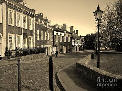 Photograph - Cathedral Close Exeter by Richard Brookes