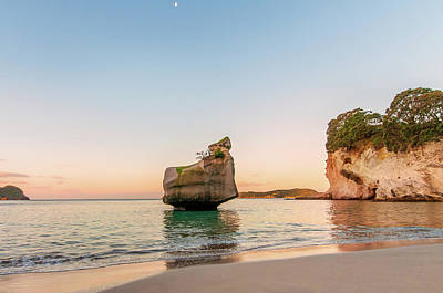 Photograph - Cathedral Cove, New Zealand by Jose Maciel