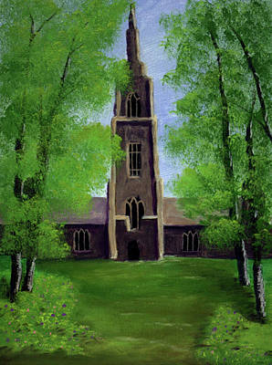 Painting - Cathedral by Dawn Blair