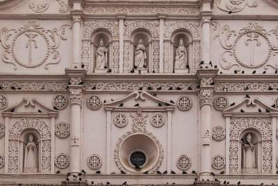 Photograph - Cathedral De Santa Maria - Facade 1 by Hany J