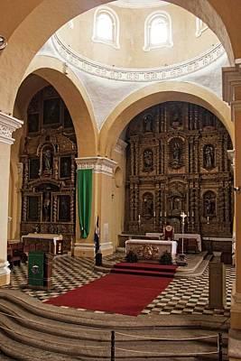 Photograph - Cathedral De Santa Maria - Interior - 2 by Hany J