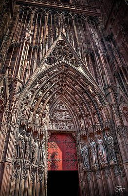 Photograph - Cathedral Entance by Endre Balogh