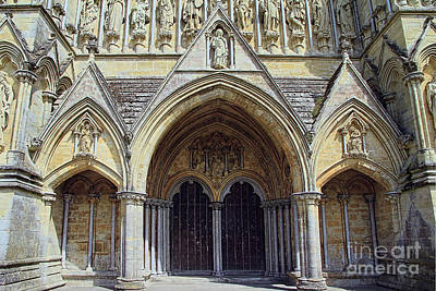Photograph - Cathedral Entrance by Teresa Zieba