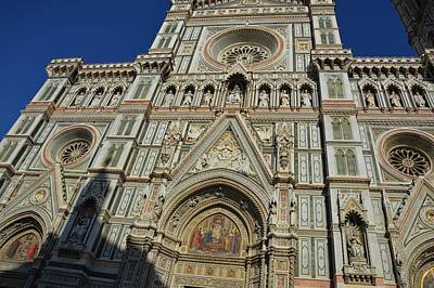 Photograph - Cathedral Facade by JAMART Photography