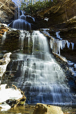 Photograph - Cathedral Falls by Melissa Petrey