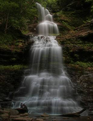 Photograph - Cathedral Falls West Virginia by Dan Sproul