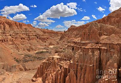 Photograph - Cathedral Gorge Medium Panorama by Adam Jewell