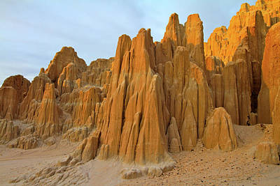 Photograph - Cathedral Gorge State Park by Ed  Riche