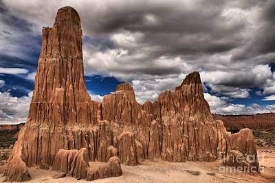 Photograph - Cathedral Gorge Towers by Adam Jewell