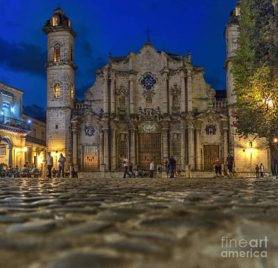 Photograph - Cathedral Havana by Jose  Rey