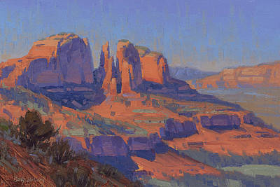 Cathedral Rock Painting - Cathedral In The Heat by Cody DeLong