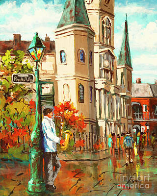 Painting - Cathedral Jazz by Dianne Parks