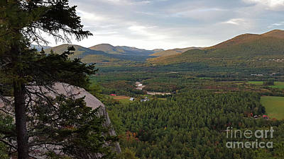Photograph - Cathedral Ledge View by Patti Whitten