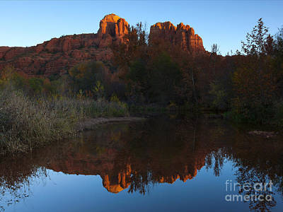 Cathedral Rock Photograph - Cathedral Light by Mike Dawson