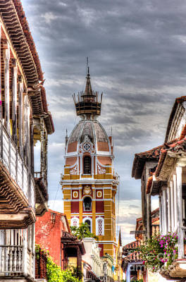 Religious Artist Photograph - Cathedral Of Cartagena  by Bob Hislop