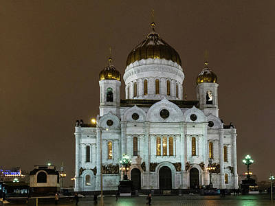 Photograph - Cathedral Of Christ The Saviour by Steven Richman