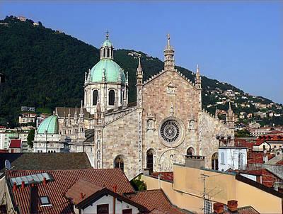 Lago Di Como Photograph - Cathedral Of Como by Lia Attelram