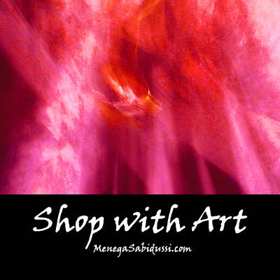 Painting - Cathedral Of Fire And Light - Shop With Art by Menega Sabidussi