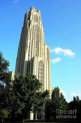 Cathedral Of Learning Art Print by Thomas R Fletcher