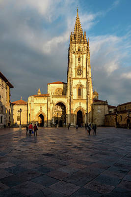 Journey Wall Art - Photograph - Cathedral Of Oviedo by Ric Schafer