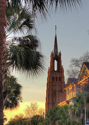 Cathedral Of Saint John The Baptist Charleston Original by Dustin K Ryan