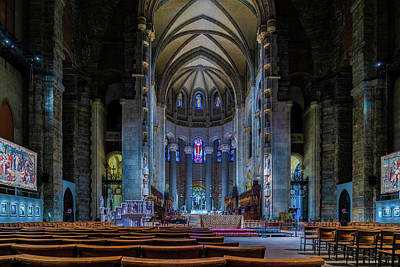 Photograph - Cathedral Of Saint John The Divine by Chris Lord
