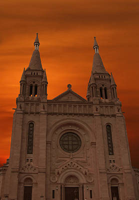 Saint Hope Photograph - Cathedral Of Saint Joseph Sioux Falls by Art Spectrum